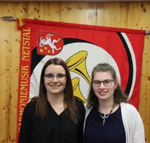 Annina Schlegel und Yvonne Riedi